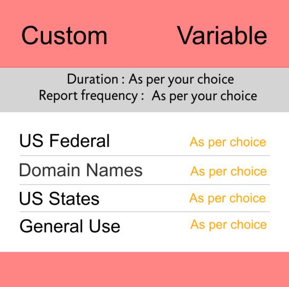 Trademark Monitoring Custom Price